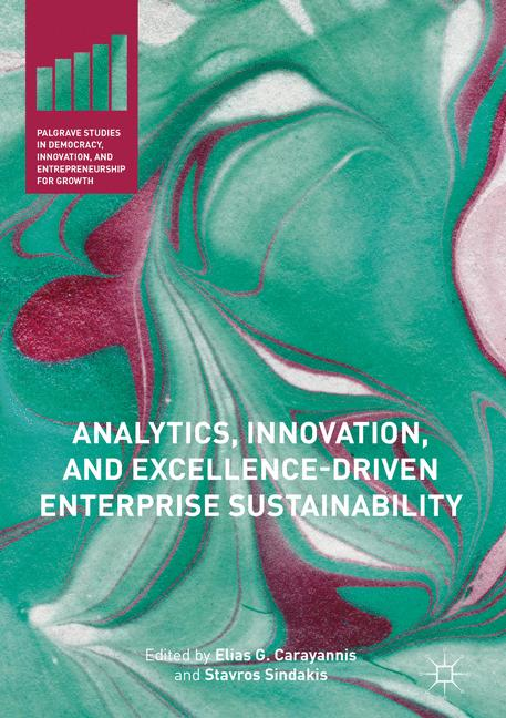 Cover of 'Analytics, Innovation, and Excellence-Driven Enterprise Sustainability'