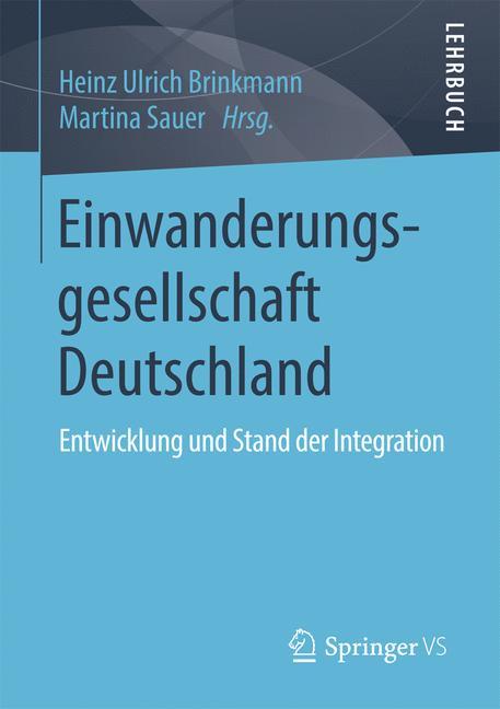 Cover of 'Einwanderungsgesellschaft Deutschland'