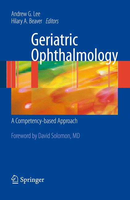 Cover of 'Geriatric Ophthalmology'