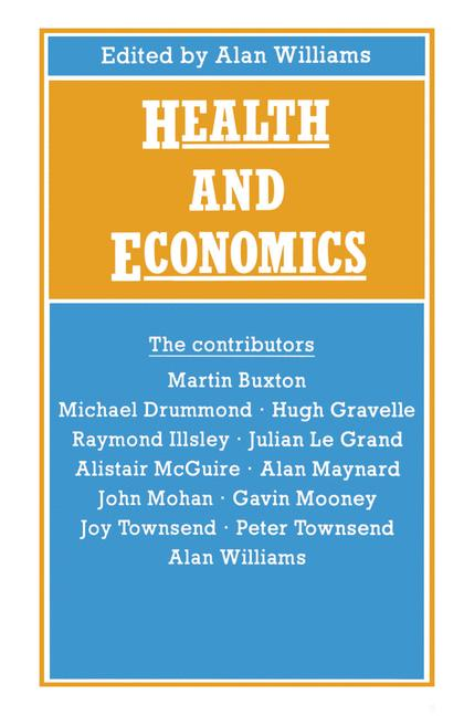 Cover of 'Health and Economics'