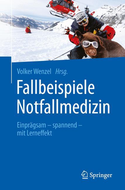Cover of 'Fallbeispiele Notfallmedizin'