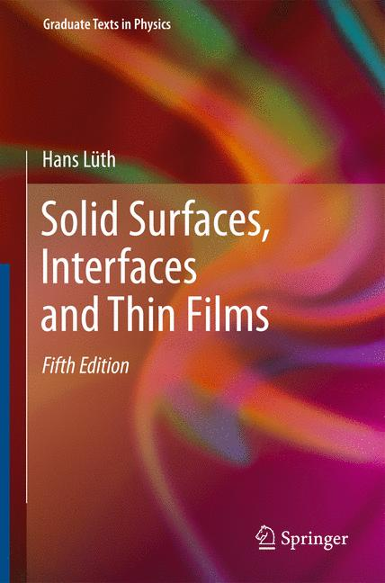 Cover of 'Solid Surfaces, Interfaces and Thin Films'