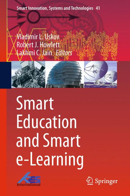 Cover of 'Smart Education and Smart e-Learning'