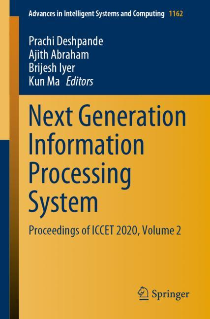 Cover of 'Next Generation Information Processing System'