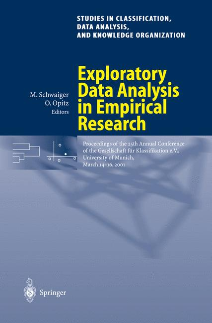 Cover of 'Exploratory Data Analysis in Empirical Research'