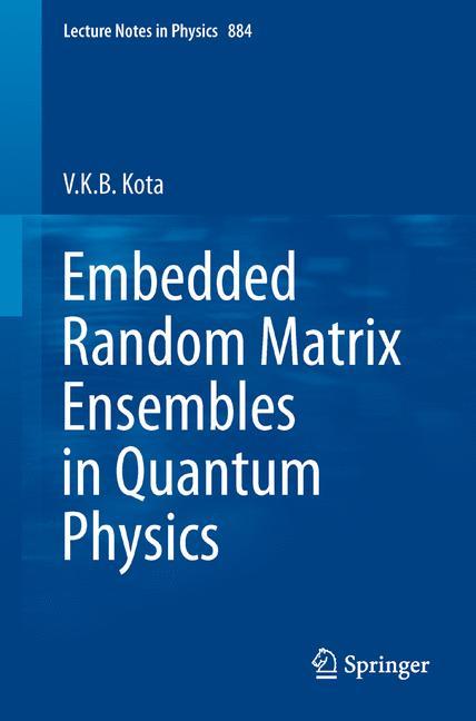 Cover of 'Embedded Random Matrix Ensembles in Quantum Physics'