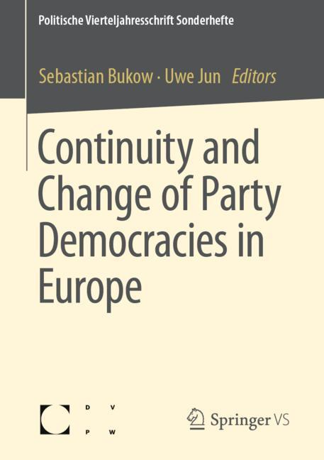 Cover of 'Continuity and Change of Party Democracies in Europe'