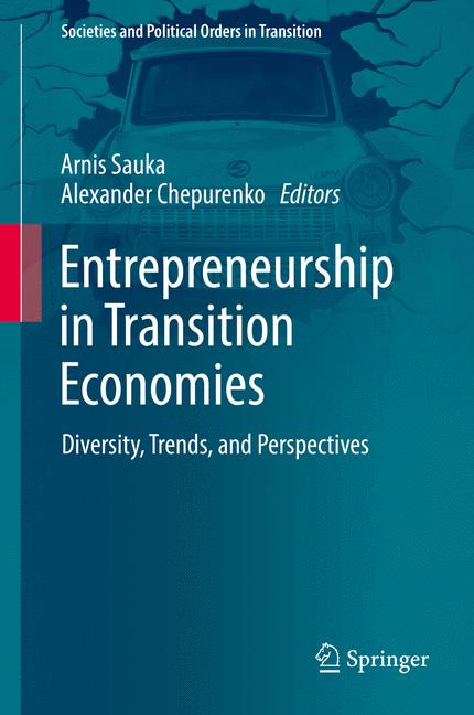 Cover of 'Entrepreneurship in Transition Economies'