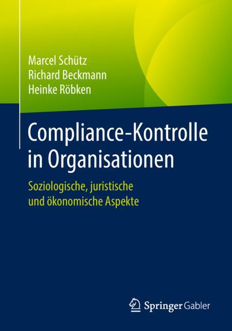 Cover of 'Compliance-Kontrolle in Organisationen'