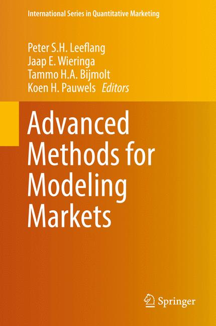 Cover of 'Advanced Methods for Modeling Markets'