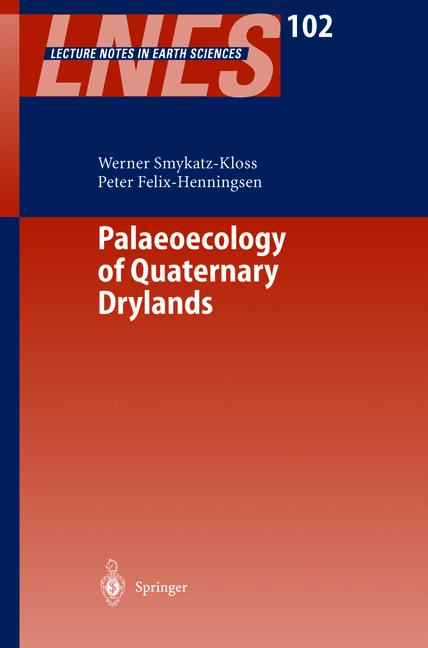 Cover of 'Paleoecology of Quaternary Drylands'