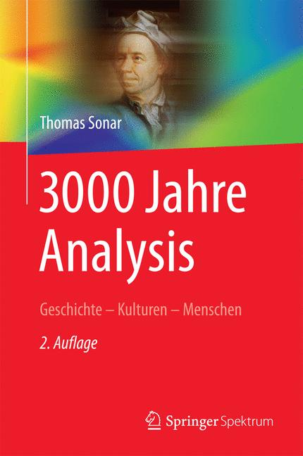 Cover of '3000 Jahre Analysis'