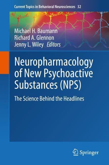 Cover of 'Neuropharmacology of New Psychoactive Substances (NPS)'