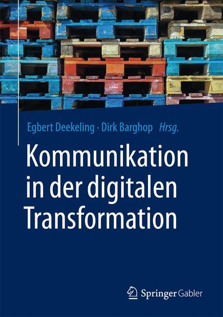 Cover of 'Kommunikation in der digitalen Transformation'