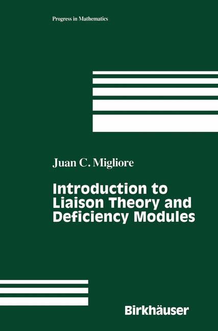 Cover of 'Introduction to Liaison Theory and Deficiency Modules'