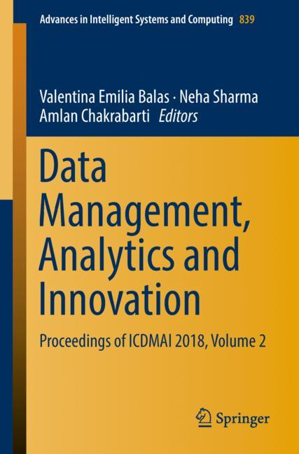 Cover of 'Data Management, Analytics and Innovation'