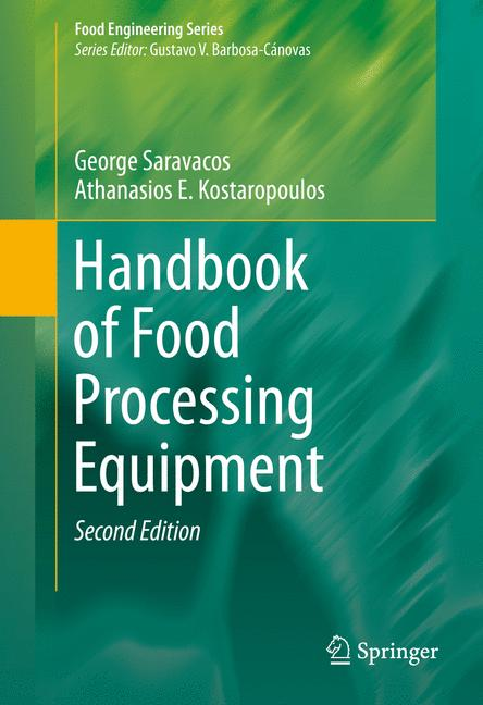 Cover of 'Handbook of Food Processing Equipment'