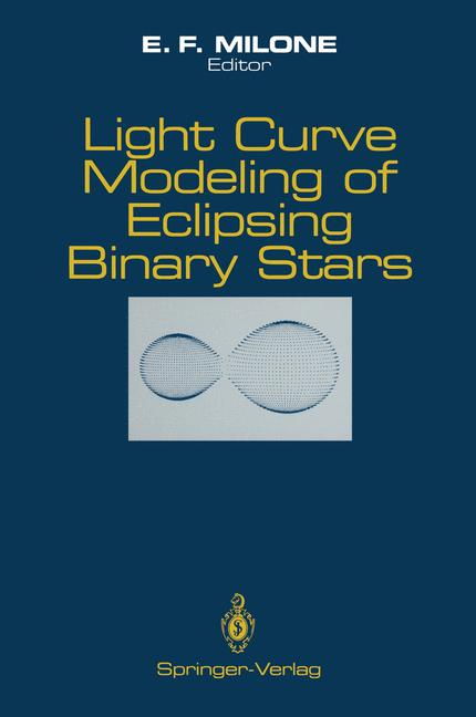 Cover of 'Light Curve Modeling of Eclipsing Binary Stars'