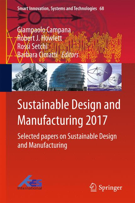 Cover of 'Sustainable Design and Manufacturing 2017'