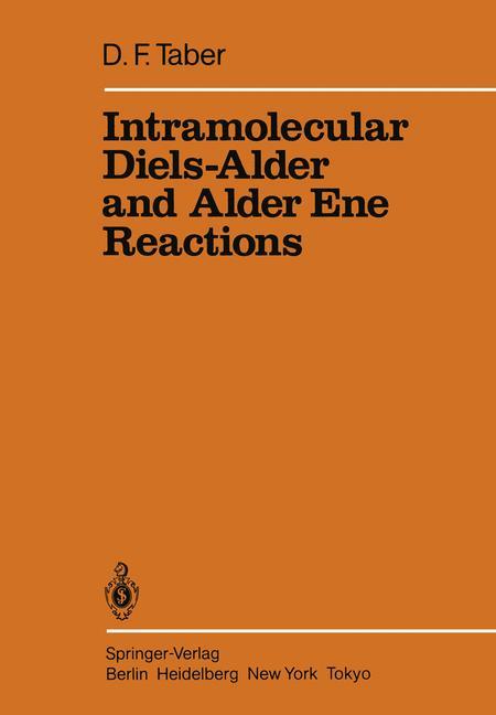 Cover of 'Intramolecular Diels-Alder and Alder Ene Reactions'