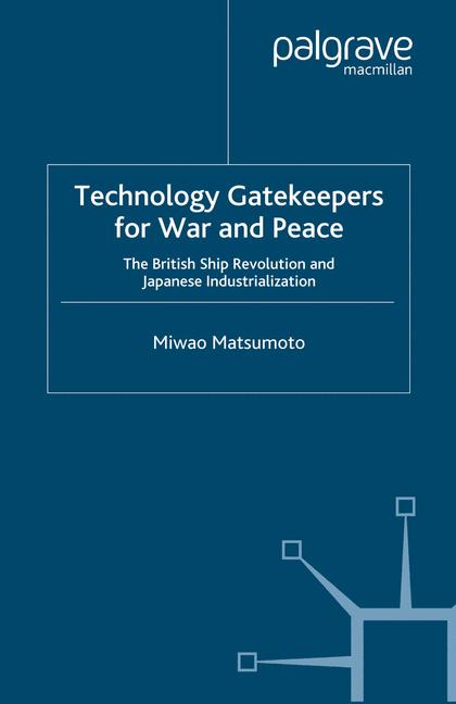 Cover of 'Technology Gatekeepers for War and Peace'