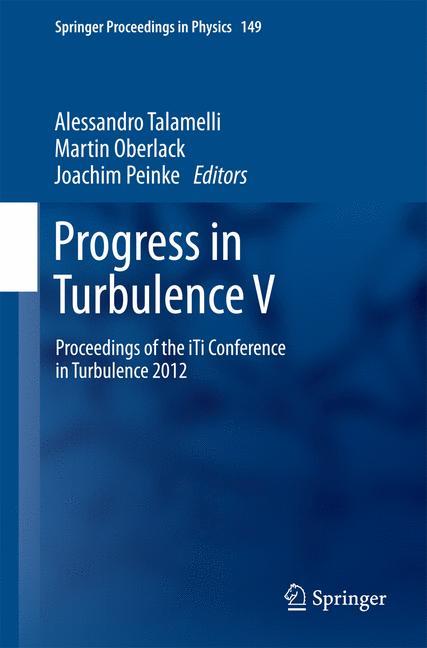 Cover of 'Progress in Turbulence V'