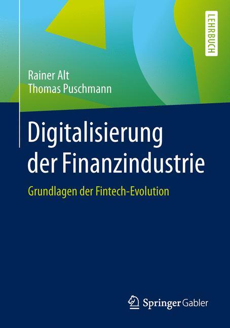 Cover of 'Digitalisierung der Finanzindustrie'