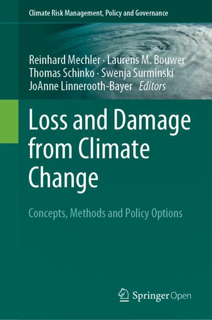 Cover of 'Loss and Damage from Climate Change'