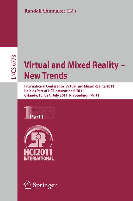 Cover of 'Virtual and Mixed Reality - New Trends'