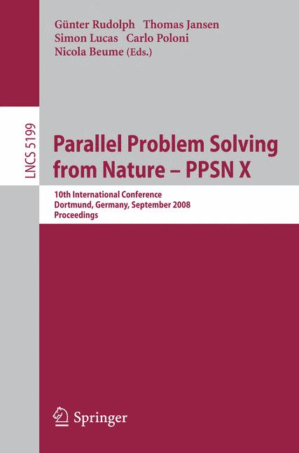Cover of 'Parallel Problem Solving from Nature – PPSN X'