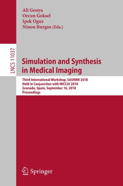 Cover of 'Simulation and Synthesis in Medical Imaging'
