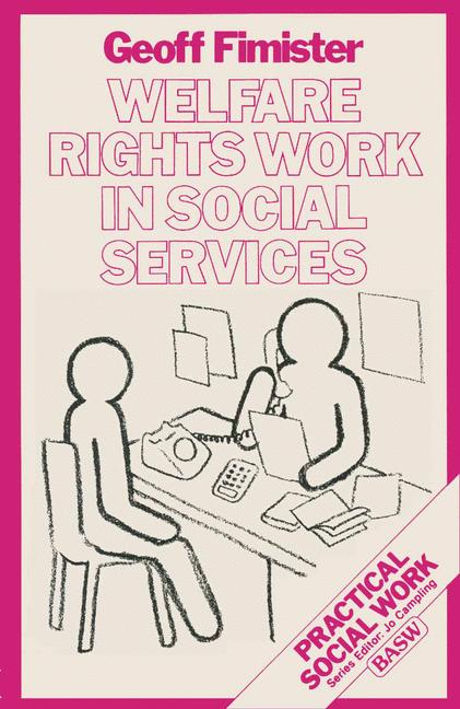 Cover of 'Welfare rights work in social services'