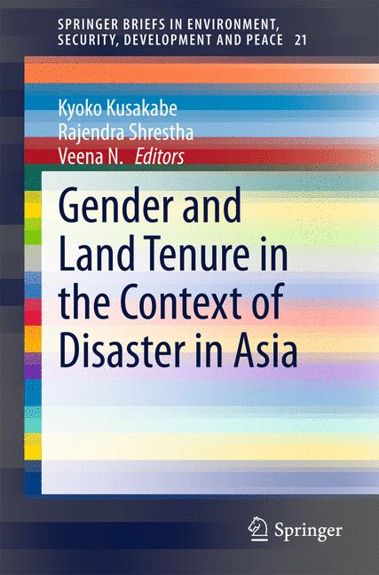 Cover of 'Gender and Land Tenure in the Context of Disaster in Asia'