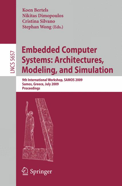 Cover of 'Embedded Computer Systems: Architectures, Modeling, and Simulation'