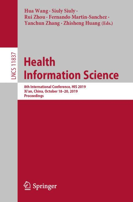 Cover of 'Health Information Science'