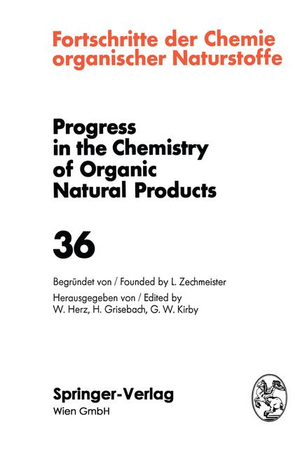 Cover of 'Fortschritte der Chemie Organischer Naturstoffe / Progress in the Chemistry of Organic Natural Products'