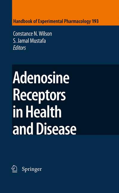 Cover of 'Adenosine Receptors in Health and Disease'