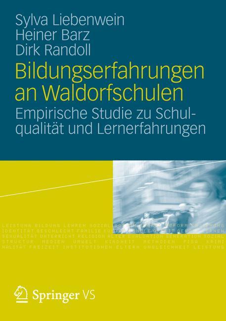 Cover of 'Bildungserfahrungen an Waldorfschulen'