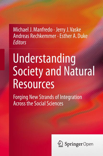 Cover of 'Understanding Society and Natural Resources'