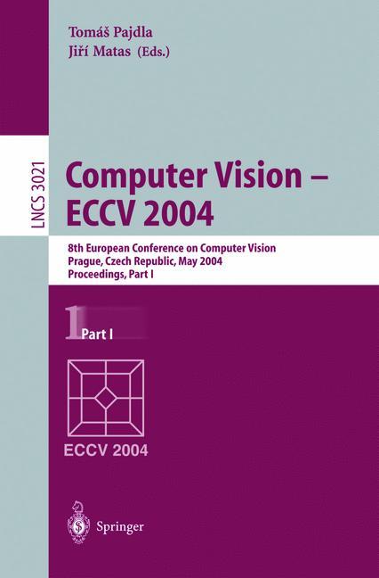 Cover of 'Computer Vision - ECCV 2004'