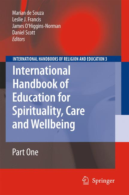 Cover of 'International Handbook of Education for Spirituality, Care and Wellbeing'