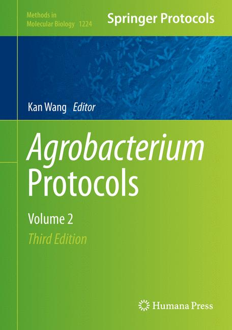 Cover of 'Agrobacterium Protocols'