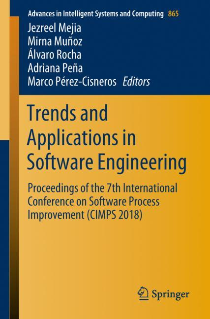 Cover of 'Trends and Applications in Software Engineering'