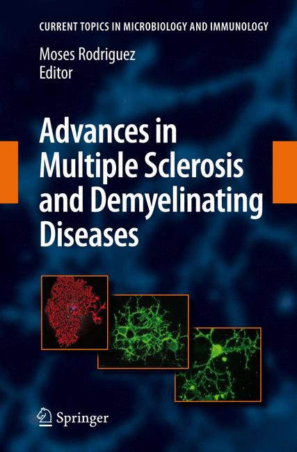 Cover of 'Advances in multiple Sclerosis and Experimental Demyelinating Diseases'