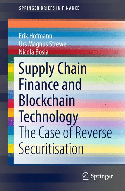Cover of 'Supply Chain Finance and Blockchain Technology'