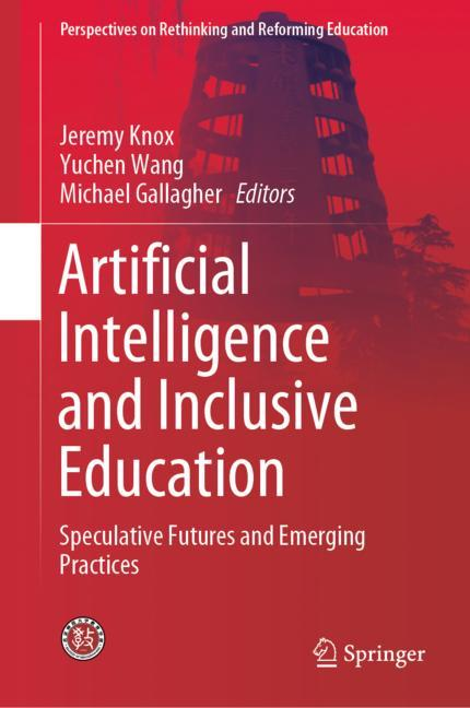 Cover of 'Artificial Intelligence and Inclusive Education'