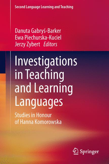 Cover of 'Investigations in Teaching and Learning Languages'