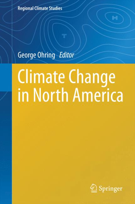 Cover of 'Climate Change in North America'