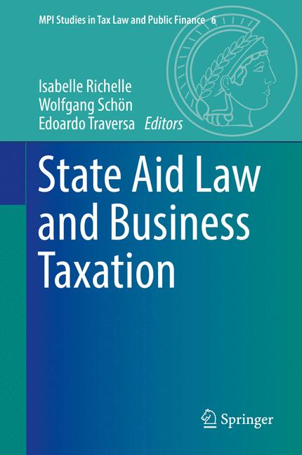 Cover of 'State Aid Law and Business Taxation'