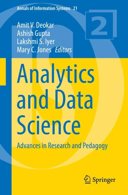 Cover of 'Analytics and Data Science'
